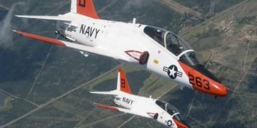 برخورد 2 جت آموزشی نیروی دریایی آمریکا