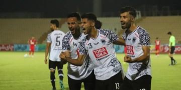توقف پرسپولیس مقابل تیم دسته دومی در نیمه اول