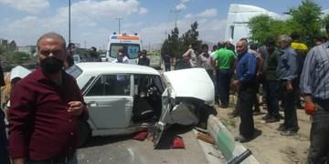 جان باختن ۳ نفر در دو فقره تصادف در محورهای آذربایجان شرقی