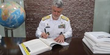 یادگاری مهم نداجا برای «آیونز» در پایان دوره ریاست ۳ ساله برای نخستین بار