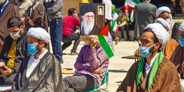 اجتماع مردم زنجان در حمایت از مردم مظلوم فلسطین