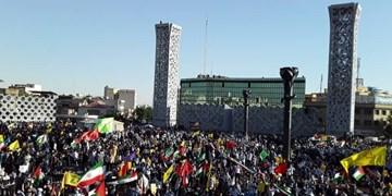 حماسه مردم تهران در حمایت از مردم فلسطین/ امروز همه فلسطینی هستیم
