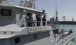 برگزاری رزمایش مشترک نیروهای دریایی قزاقستان و روسیه در خزر