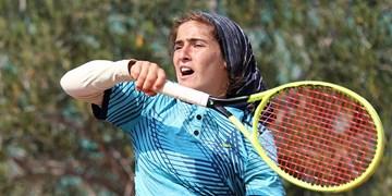 قهرمانی مشکاتالزهرا صفی در تور جهانی تنیس
