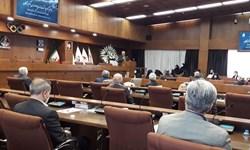 برگزاری مراسم بزرگداشت مرحوم ترکان با حضور مسئولان ورزشی