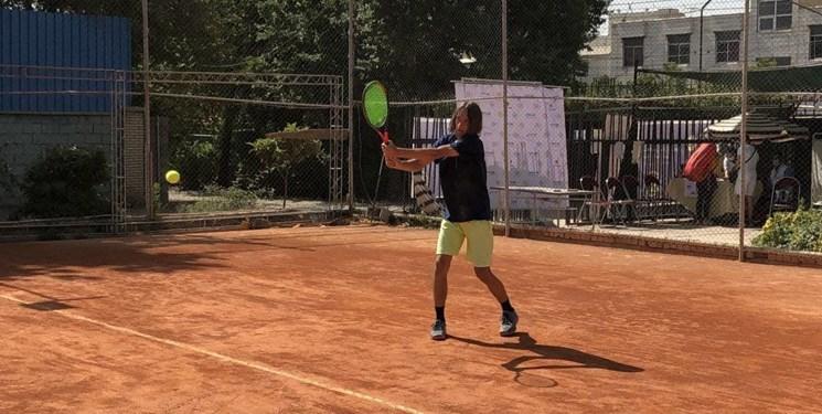 برتری تنیسور جوان جاجرمی در مسابقات تورجهانی تنیس شیراز