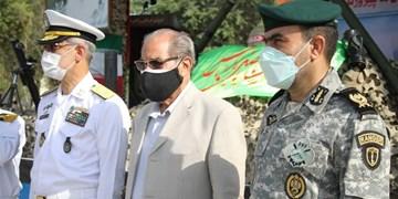 گرامیداشت آزادی خرمشهر با حضور تکاور بازنشسته ناخدا صمدی +عکس