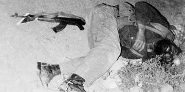 شهیدی که در حال تلاش برای حفظ جان سربازان دشمن به شهادت رسید