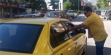 تاکسیرانان امانتدار کرمانشاه ۱۳۰ شی جامانده را تحویل تاکسیرانی دادند