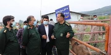 بازدید رئیس سازمان بسیج مستضعفین از دهکده اقتصاد مقاومتی سپاه کربلا در ساری