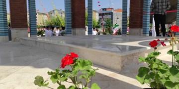 فارس من| یادمان شهدای گمنام مسکن مهر رشت افتتاح شد