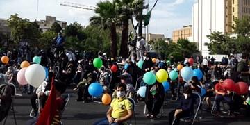 جشن کودکان تهرانی برای پیروزی مردم فلسطین برگزار شد