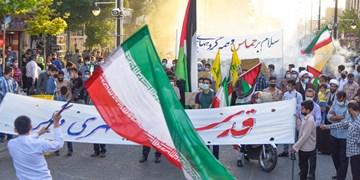 جشن پیروزی در زنجان