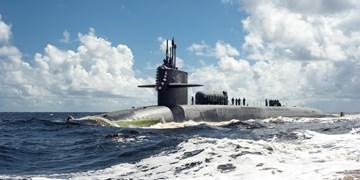 رصد زیردریایی جورجیا هنگام خروج از تنگه هرمز توسط ارتش