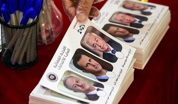 الانتخابات الرئاسية السورية 2021 .. لحظة بلحظة
