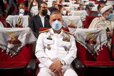 حضور دریادار کاویانی جانشین فرمانده نیروی دریایی ارتش در مراسم اربعین سرلشکر شهید سید محمد حجازی
