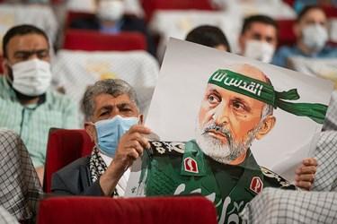 مراسم اربعین سرلشکر شهید سید محمد حجازی در سالن اندیشه حوزه هنری
