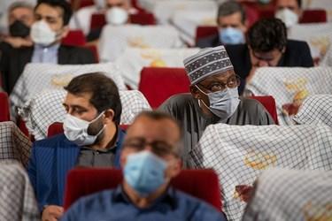 حضور تعدادی از شاگردان شیخ زکزاکی در مراسم اربعین سرلشکر شهید سید محمد حجازی