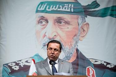سخنرانی شفیق دیوب سفیر سوریه در ایران در مراسم اربعین سرلشکر شهید سید محمد حجازی