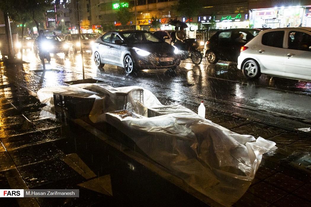 باد و باران در  پایتخت