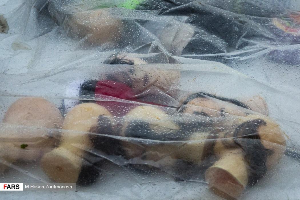 باد و باران شدید در پایتخت - تئاتر شهر