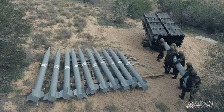 حماس: تولید هزاران موشک جدید را از سر گرفتیم