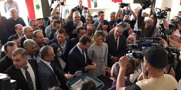 «بشار اسد» پای صندوق رأی: ملت سوریه در مقابل تروریسم متحد است