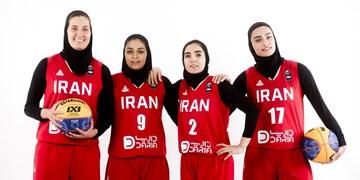 بسکتبال کسب سهمیه المپیک  شکست زنان ایران در گام نخست