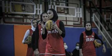 بسکتبال کسب سهمیه المپیک  زنان ایران در دومین مسابقه هم شکست خوردند