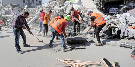 خنثیسازی 1200 بمب و خمپاره منفجر نشده در نوار غزه