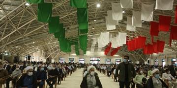 مراسم چهلمین روز فقدان شهید حجازی جانشین نیروی قدس سپاه