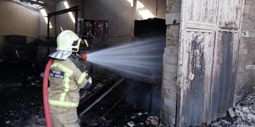 علت آتشسوزی انبار ضایعات، بیاحتیاطی و عدم رعایت مسائل ایمنی بوده است