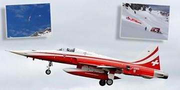 سقوط جنگنده «اف-5 تایگر» نیروی هوایی سوئیس