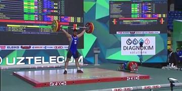 وزنهبرداری جوانان جهان بیرانوند به مقام چهارم رسید /کسب اولین مدال ایران در تاشکند