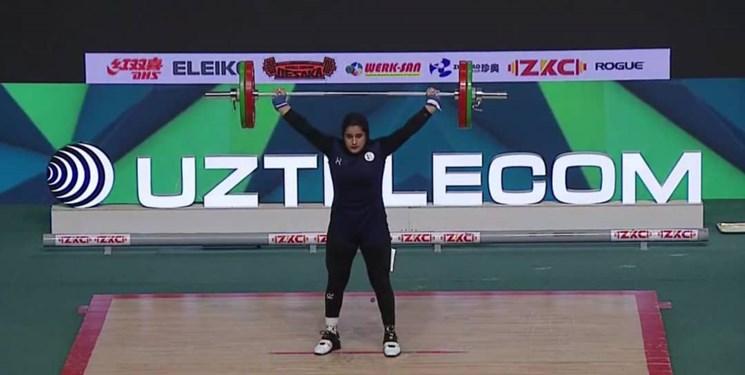 وزنهبرداری قهرمانی جوانان جهان|کسب اولین مدال تاریخ بانوان کشورمان توسط جمالی+عکس و فیلم