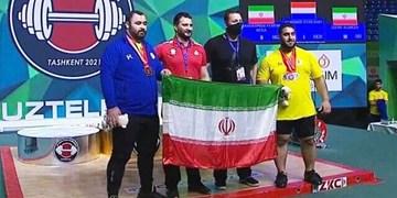 سکوی دوم و سومی فوقسنگین وزنهبرداری جوانان جهان به ایران رسید+فیلم