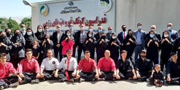 حضور مسئولان ورزش افغانستان در فدراسیون کونگفو