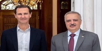 رئیس حزب دموکراتیک لبنان با بشار اسد دیدار کرد