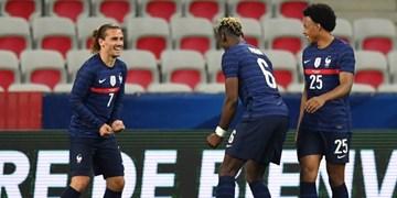 بازیهای ملی دوستانه| پیروزی پرگل فرانسه در شب ناکامی بنزما / آلمان در خانه به تساوی رسید