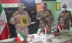 فرماندهان مرزبانی سومار و خانقین عراق با یکدیگر دیدار کردند