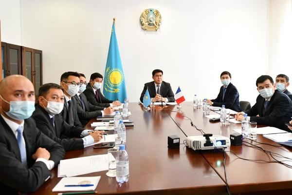 هشتمین دور رایزنی های سیاسی نهادهای دیپلماتیک قزاقستان و فرانسه