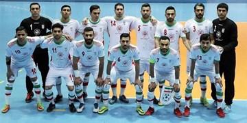 فوتسال ایران همچنان در رده ششم دنیا