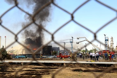بیش از ۱۰ ایستگاه آتشنشانی به همراه با امکانات لازم همچون تانکر آب و تجهیزات تنفسی و تجهیزات مربوط به اطفای حریق از همان لحظات اولیه به محل حادثه اعزام شدند.