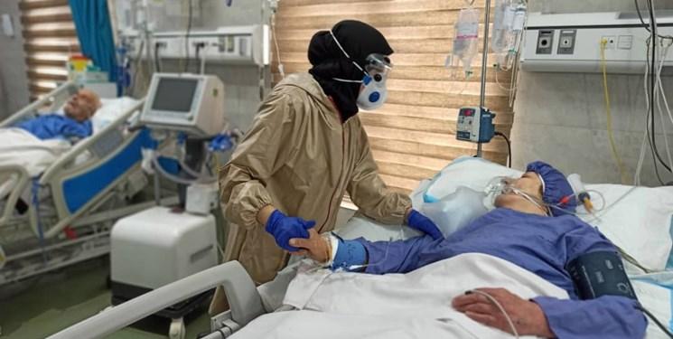 جان باختن 124 بیمار در شبانه روز گذشته