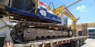 ورود دهها دستگاه ماشین آلات سنگین مصر به غزه برای آواربرداری از  ویرانههای جنگ