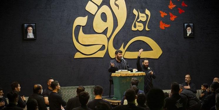۱۰ مجلس عزاداری شهادت امام صادق در تهران و اصفهان
