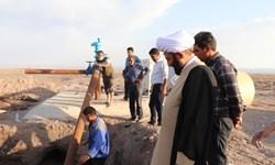 بهرهبرداری از چاه آب شرب کبوترخان رفسنجان