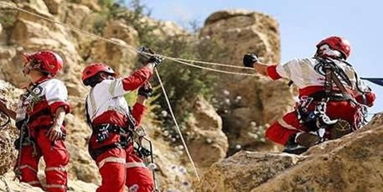 نجات ۱۳ نفر کوهنورد گمشده در یامان داغی