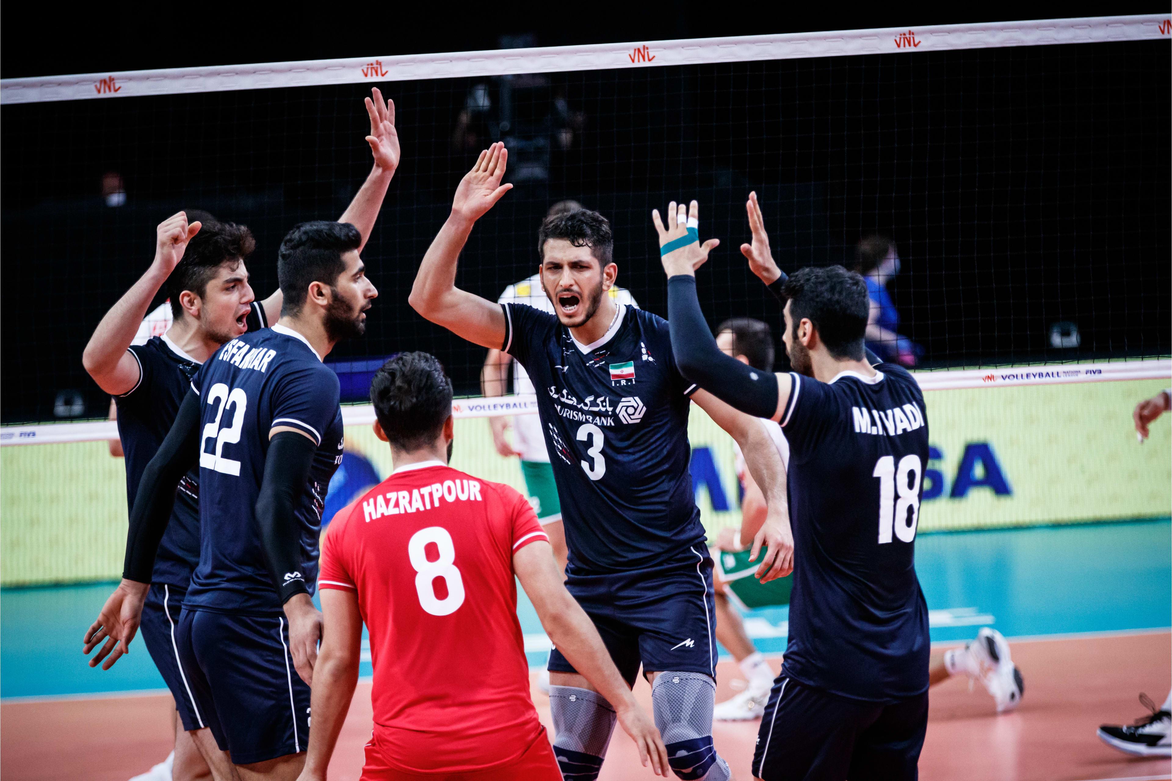 هتتریک والیبال ایران در هفته دوم/ همه زیر ذرهبین آلکنو؛ هر بازی، یک ترکیب!