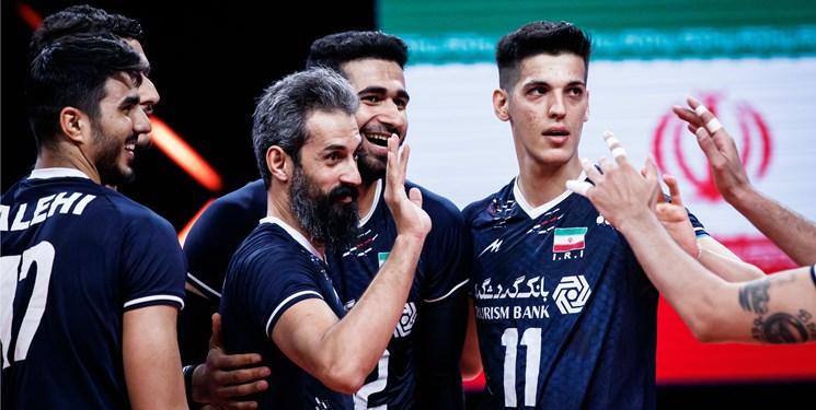 لیگ ملتهای والیبال| پیروزی برزیل مقابل ایران در ست نخست